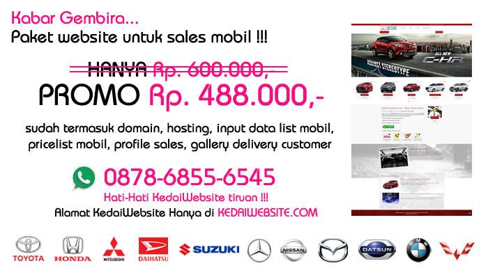Website Otomotif Mobil Murah